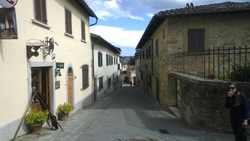 Panzano in Chianti centrum