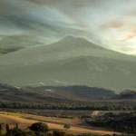 De uitgedoofde vulkaan Monte Amiata