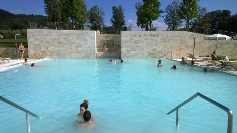 ontspannen in de warmwaterbronnen