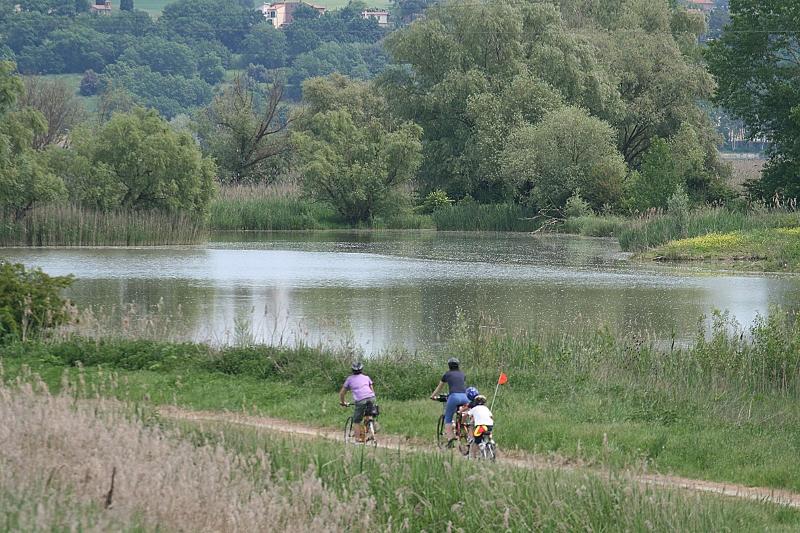 Het meer van Montepulciano