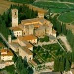 Het klooster Badia a Passignano in de Chianti streek