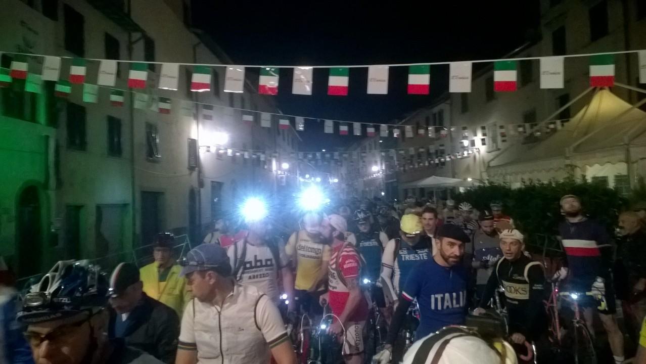 Eroica Toscane start