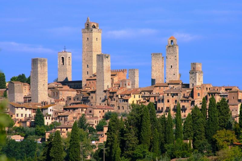 San Gimignano met zijn middeleeuwse torens