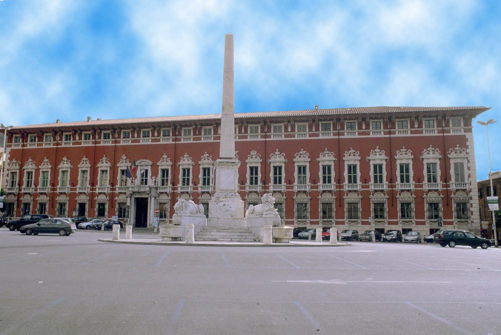 Het Palazzo Ducale in Massa