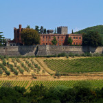 Autoroute langs de Chianti Classico stadjes van de regio Siena