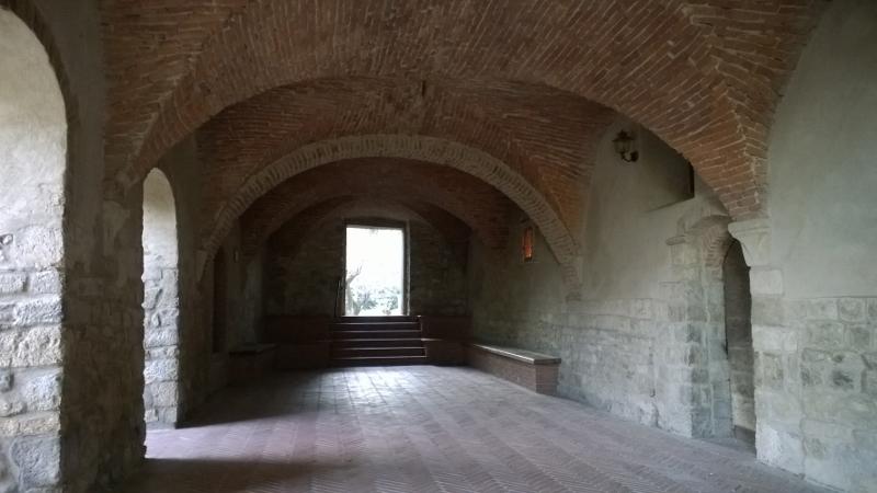 Oratorio della purificazione Castelnuovo Val di Cecina - crypte