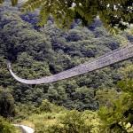 Wandelen langs de bruggen Ponte di Castruccio en Ponte sospeso
