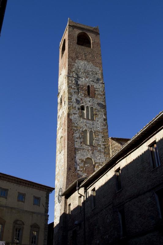 De middeleeuwse toren Torre del Pubblico in Città della Pieve