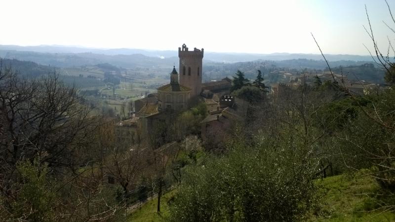 San Miniato vanuit de rocca di Federico II