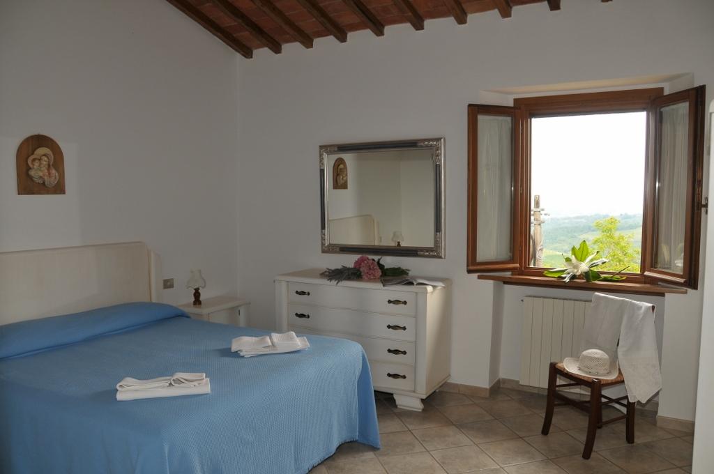 slaapkamer appartement Casa Vecchia