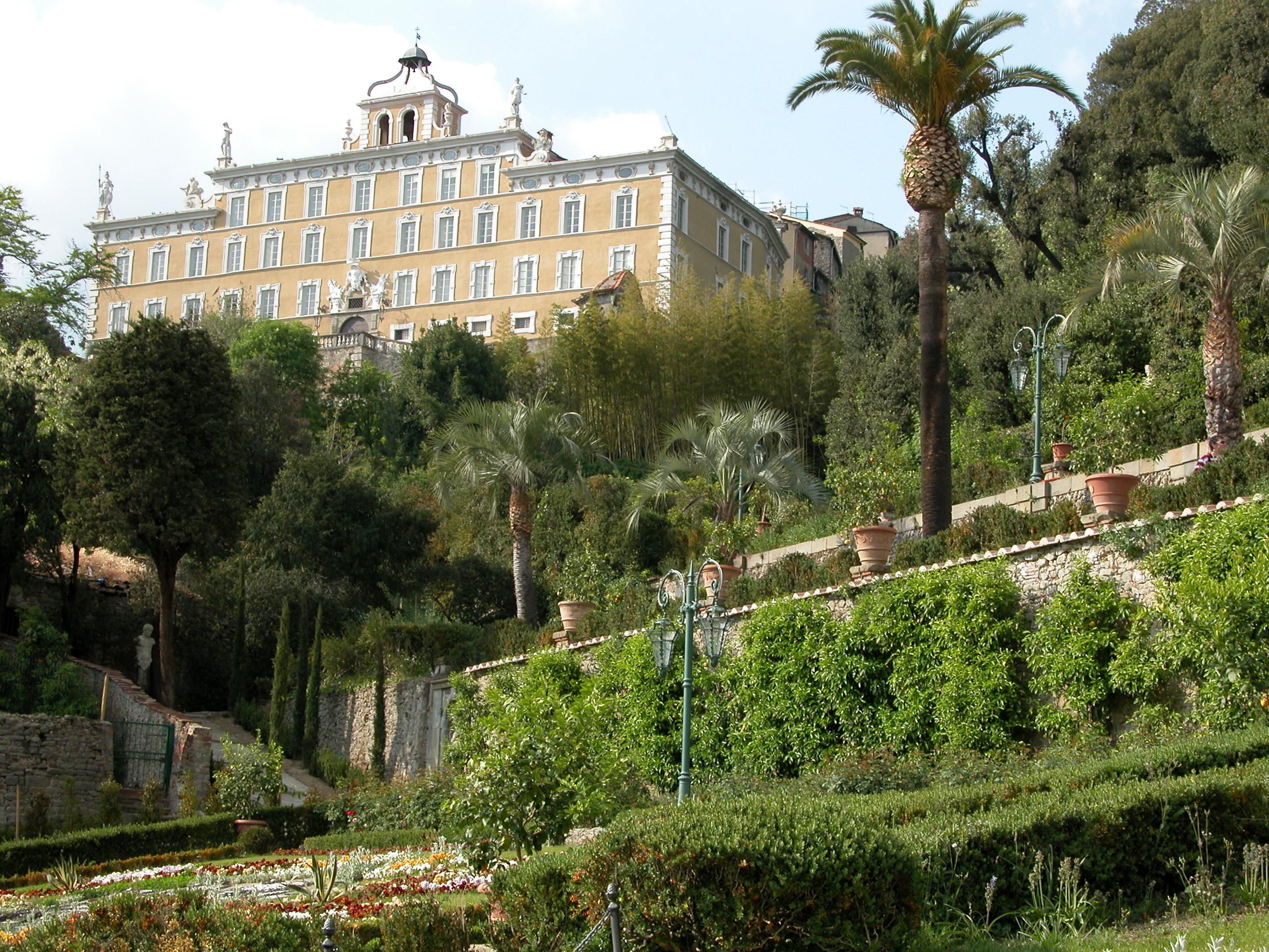 Villa Garzoni met zijn prachtige tuin