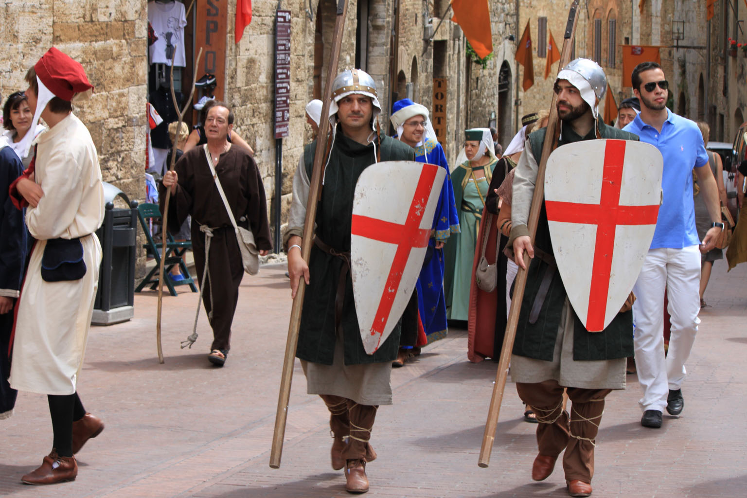 San Gimignano - Ferie delle Messi (Mittelalterfest)