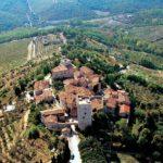 Kastelentocht 1: Pieve di Spaltenna – Vertine – Uliveta – San Donato in Perano – Villa Vistarenni