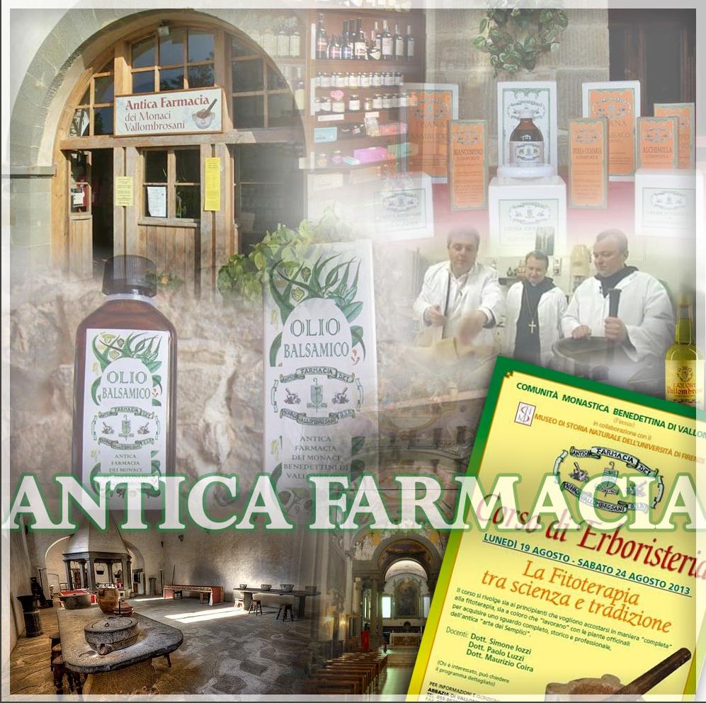 antica farmacia abdij van Vallombrosa