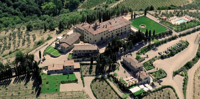 het kasteel San Donato in Perano