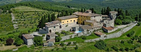 Het kasteel van Cacchiano