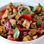 Panzanella – salade van brood en groenten