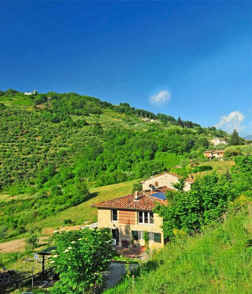 Agriturismo Abbaca-là en de omgeving