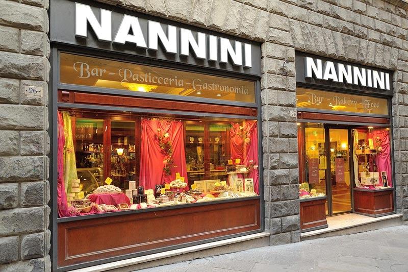 de koffiebar Nannini in Siena