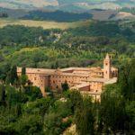 De abdij Abbazia di Monte Oliveto Maggiore