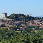 Sarteano in de Val d'Orcia streek