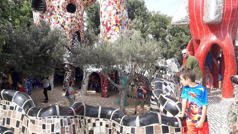 Giardino dei Tarocchi Capalbio Toscane