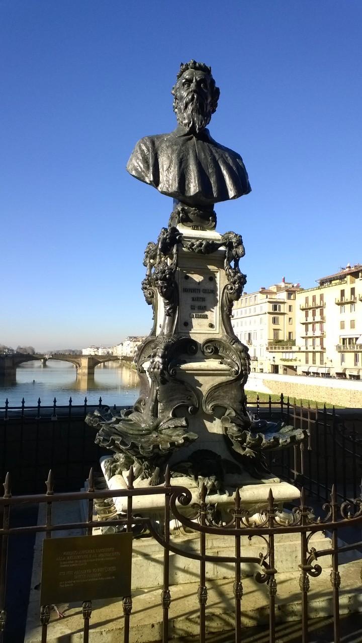 Benvenuto Cellini Ponte Vecchio