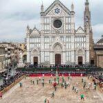 De kerk Santa Croce in Firenze