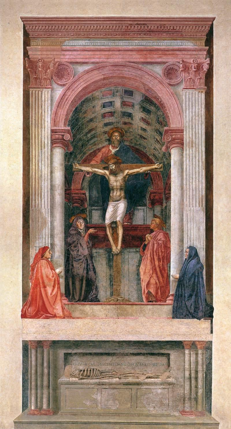 Firenze-Santa Maria Novella-Masaccio