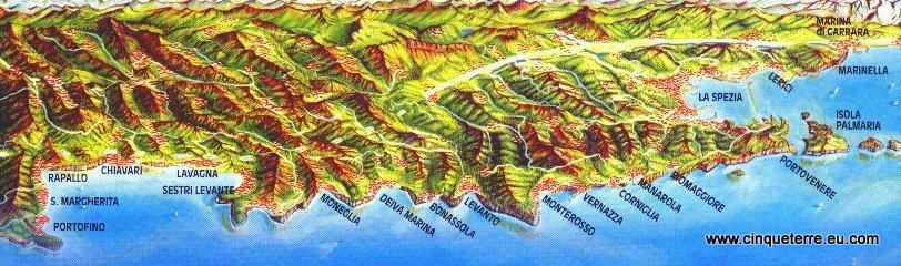 Cinque Terre dorpen