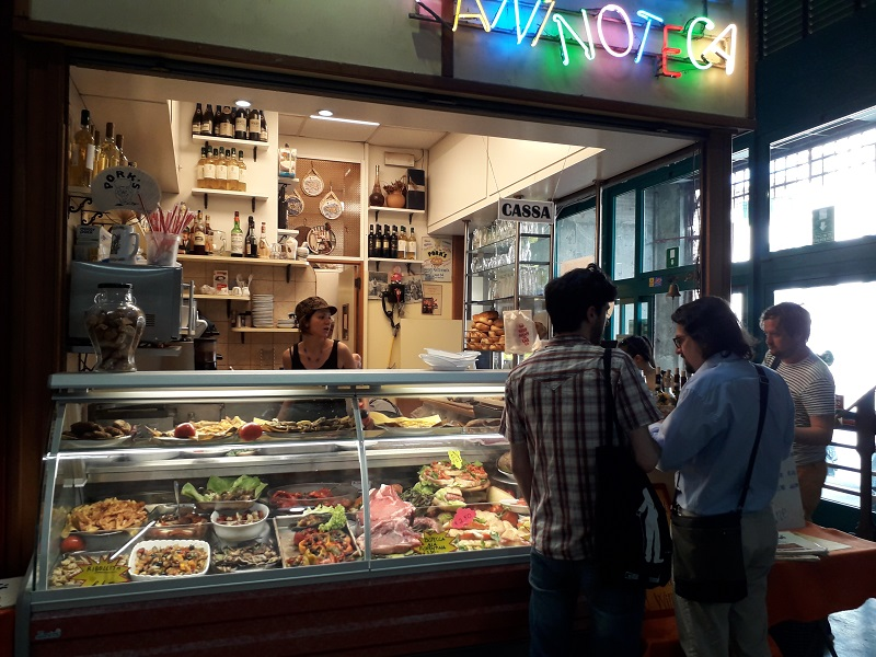 kraampje markt Sant Ambrogio Firenze