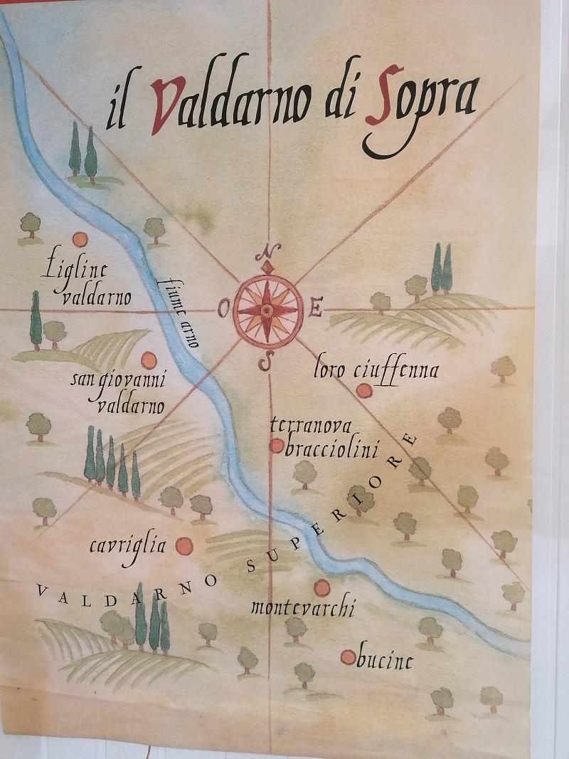 cantina del Valdarno streken
