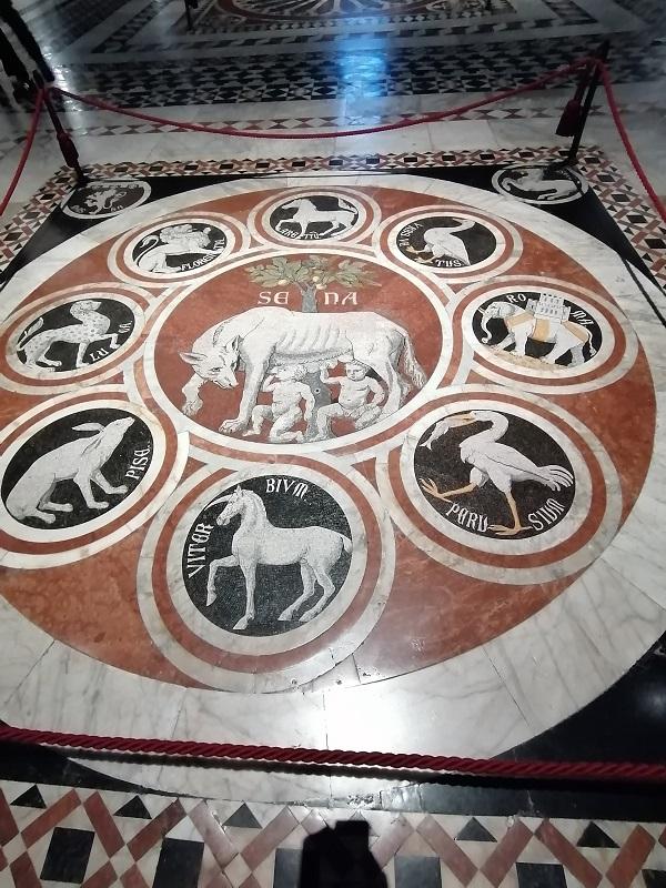 Siena kathedraal vloer