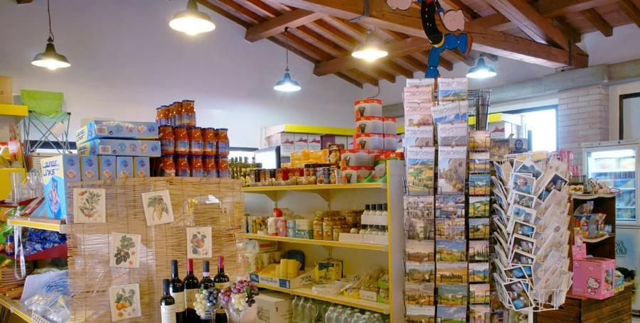camping Barco Reale Toscane - market