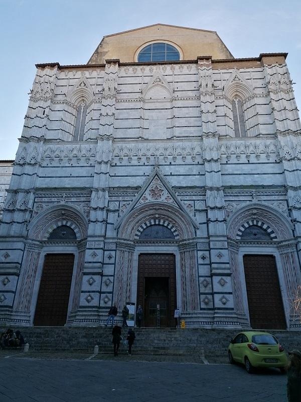 kathedraal Siena doopkapel