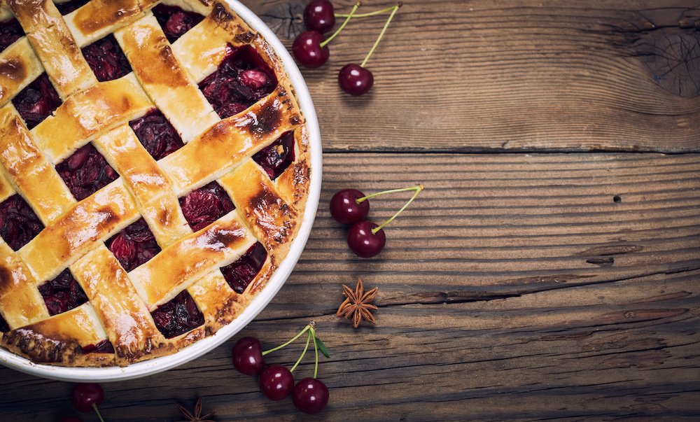 Gourmet Harvest International Recipe Of The Month – Summertime Favorite Delicious Cherry Pie