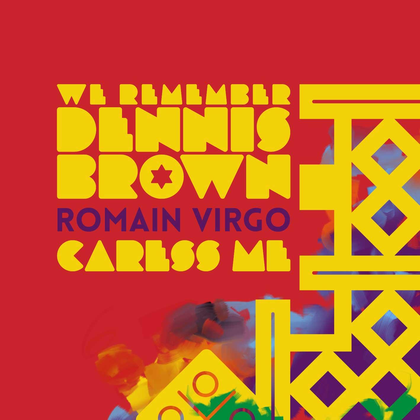Dennis_Brown-Romain_Virgo-Caress_Me-Cover