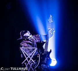 Behemoth bass player.