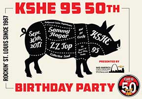 KSHE 95: ZZ Top, Collective Soul, and Sammy Hagar photos