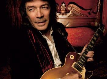 Genesis guitarist, Steve Hackett.