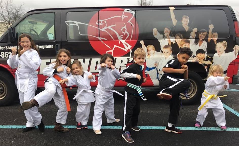 After school van and kids