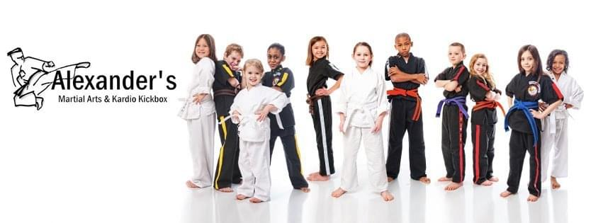 Kids at Alexander's Martial Arts