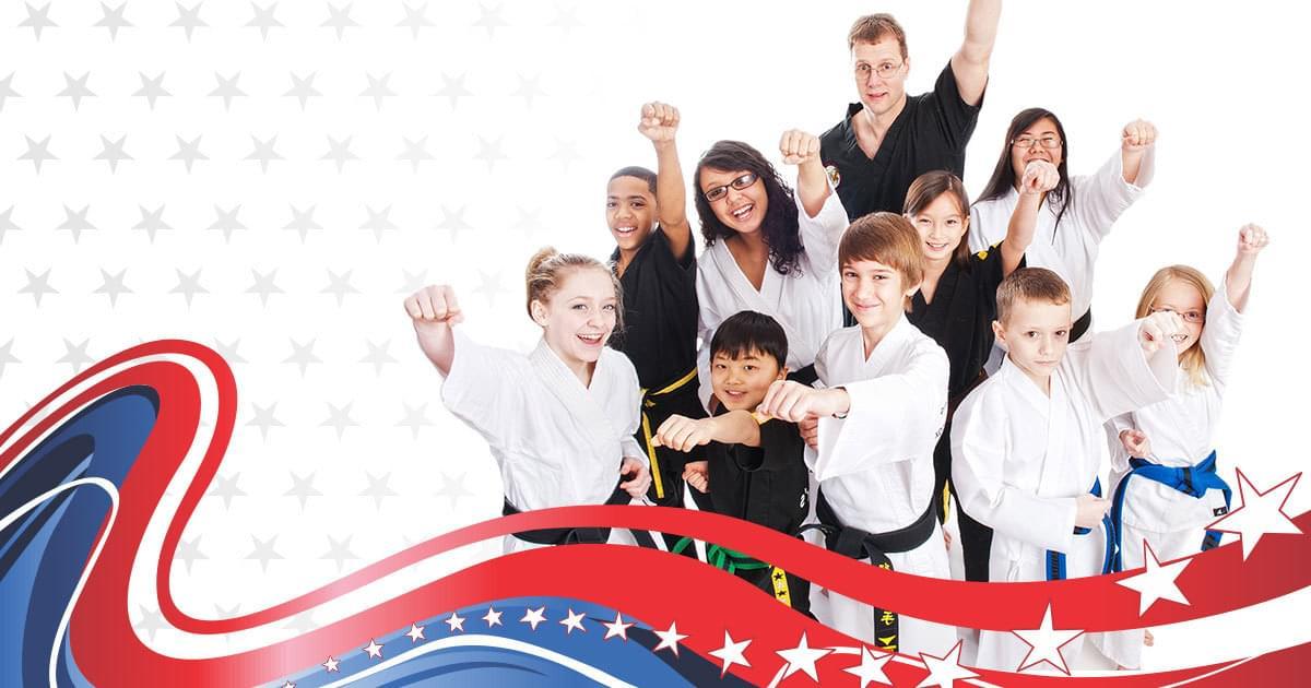 Karate kids at Alexander's