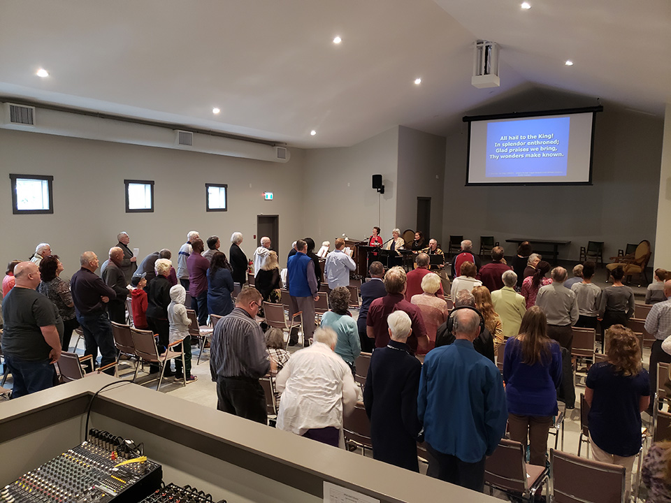 Millbay Baptist Church Service