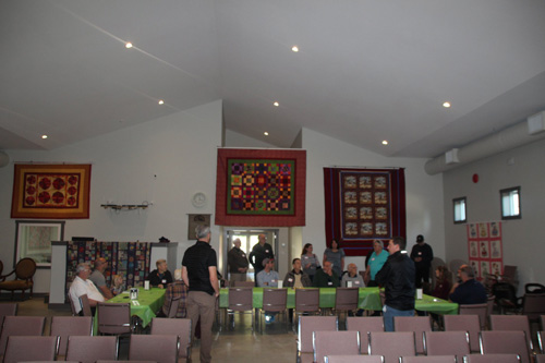 Inside the Mill Bay Baptist Church Worship Area