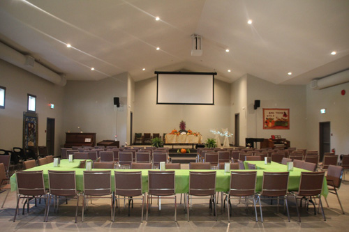 Inside the Mill Baptist Church
