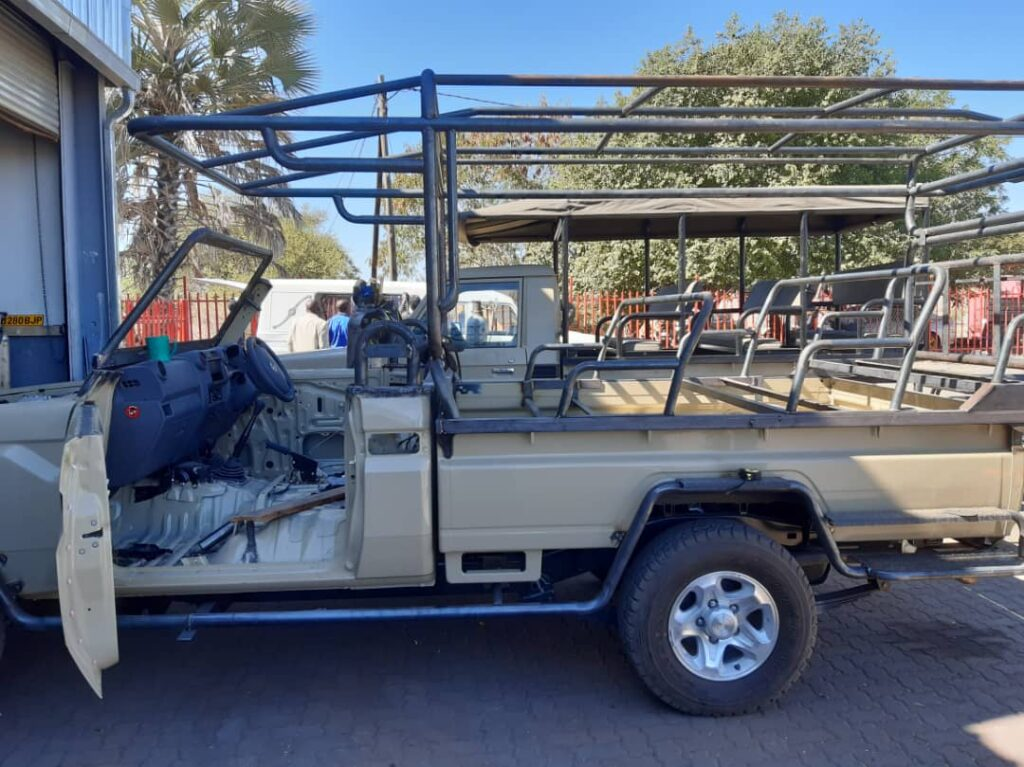 Brave Africa Game Drive Vehicle
