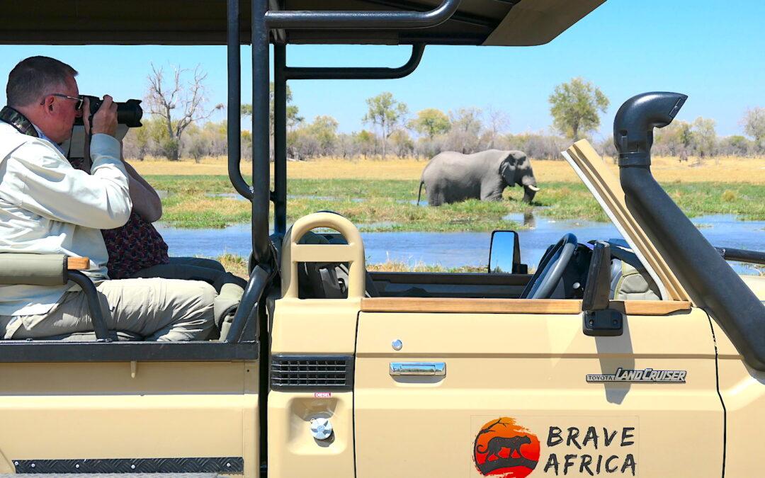 Brave Africa Safari Car Closeup