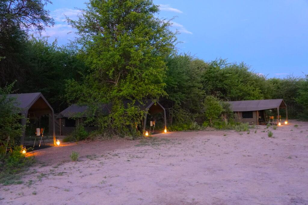 Brave Africa Camp Setup