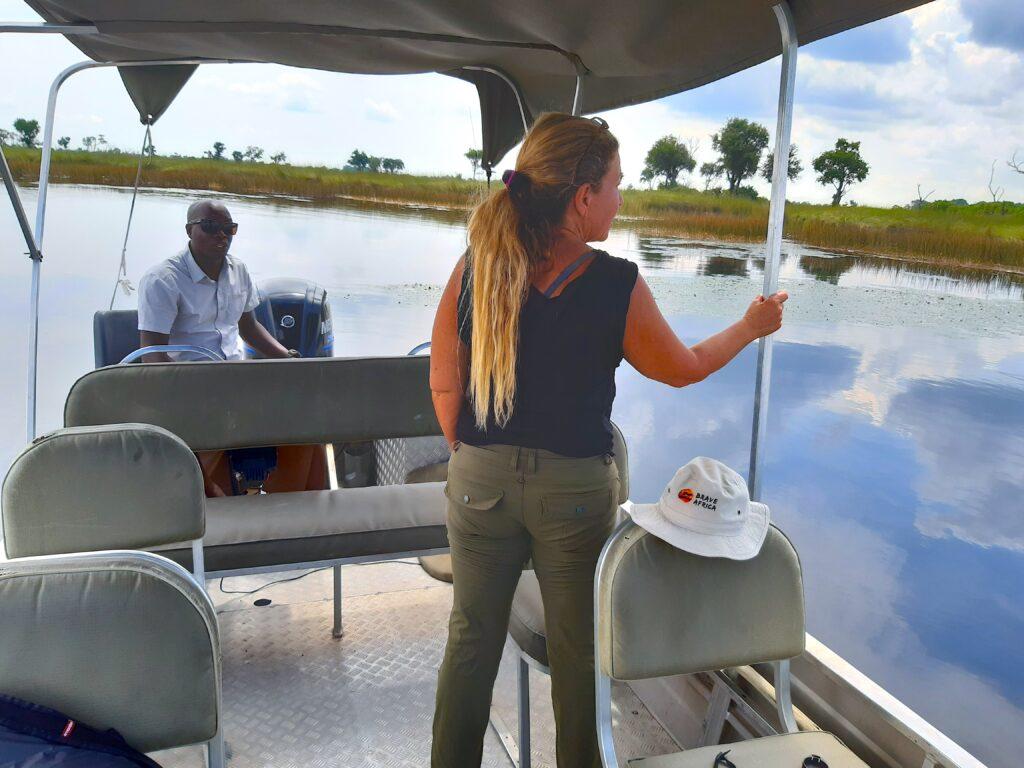 Boating Safari Botswana